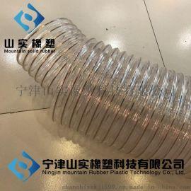 厂家直销排气伸缩管,排气管带钢丝,吸尘排气钢丝管,透明排气钢丝管,通风排气螺旋管