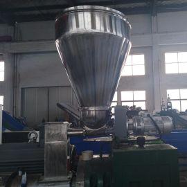 瓶片造粒机 塑料造粒机厂家单螺杆拉条造粒机直销