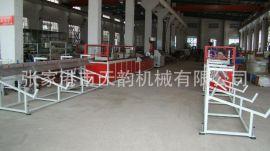 現貨熱銷SJSZ55/11木塑地板裝飾條生產線