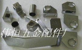 工业烘箱防爆门扣HS-180-2烤箱门把手 拉杆门扣 方杆门锁