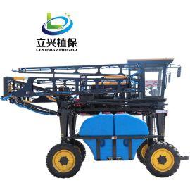 自走式喷杆喷雾机 玉米等高杆作物打药机 蔬菜喷雾机