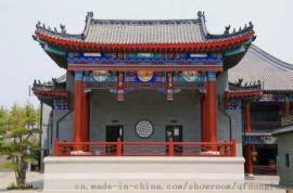 钢结构仿古建筑工程专业设计 制造 安装