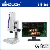 三维视频显微镜中旺精密自动对焦高清视频显微镜