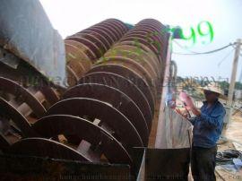 高岭土矿选取设备 山东滚筒螺旋洗矿机