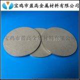 供应管式过滤高效多孔钛板