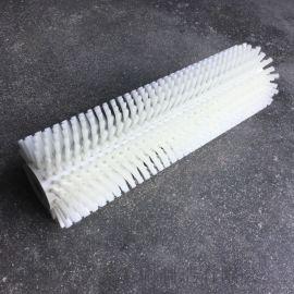 专业生产尼龙丝毛刷辊 清洗毛刷辊 条形毛刷