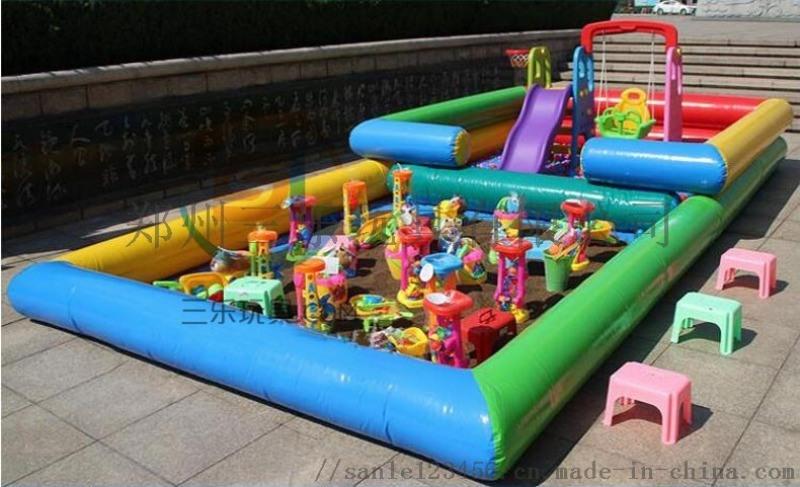 甘肃儿童充气沙滩池摆摊经营非常赚钱