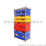 工業倉儲不鏽鋼零件盒置物架防靜電展示架