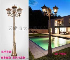 户外LED3米4米庭院灯 防水花园别墅景观灯