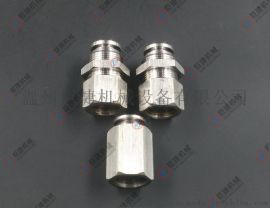 不锈钢隔板快插接头 6-16mm快插直通接头 304气源接头