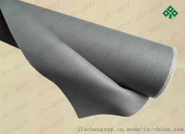 苏州厂家批发挡烟硅胶布、灰色防火布、双面灰色帆布