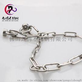 直销不锈钢链条 304不锈钢圆短环链条 M3