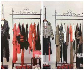 长期供应亮点国际品牌折扣女装货源 18春装