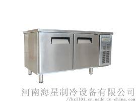 焦作/济源冷藏操作台多少钱 厨房不锈钢保鲜工作台