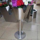 不鏽鋼花盆 定做不鏽鋼花瓶