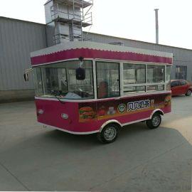 电动餐车电动小吃车电动移动超市电动服装售货车