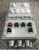 防爆配电主回路箱 5回路带总开关防爆配电箱