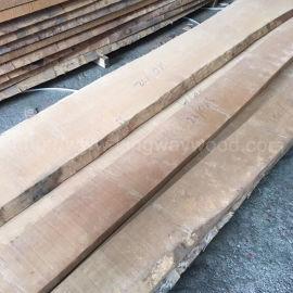 金威木业欧洲榉木 毛边板 地板 实木板A级AB级