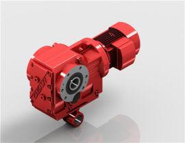 KAT67斜齿轮减速机|带扭力臂减速机|迈传减速机