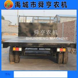 定做农用拖拉机平板拖车 10吨平板车