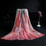 真絲絲巾圍巾絲綢禮品定製加工工廠