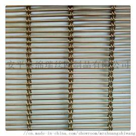 安平绵瑞不锈钢幕墙金属网帘定制 金属网装饰帘