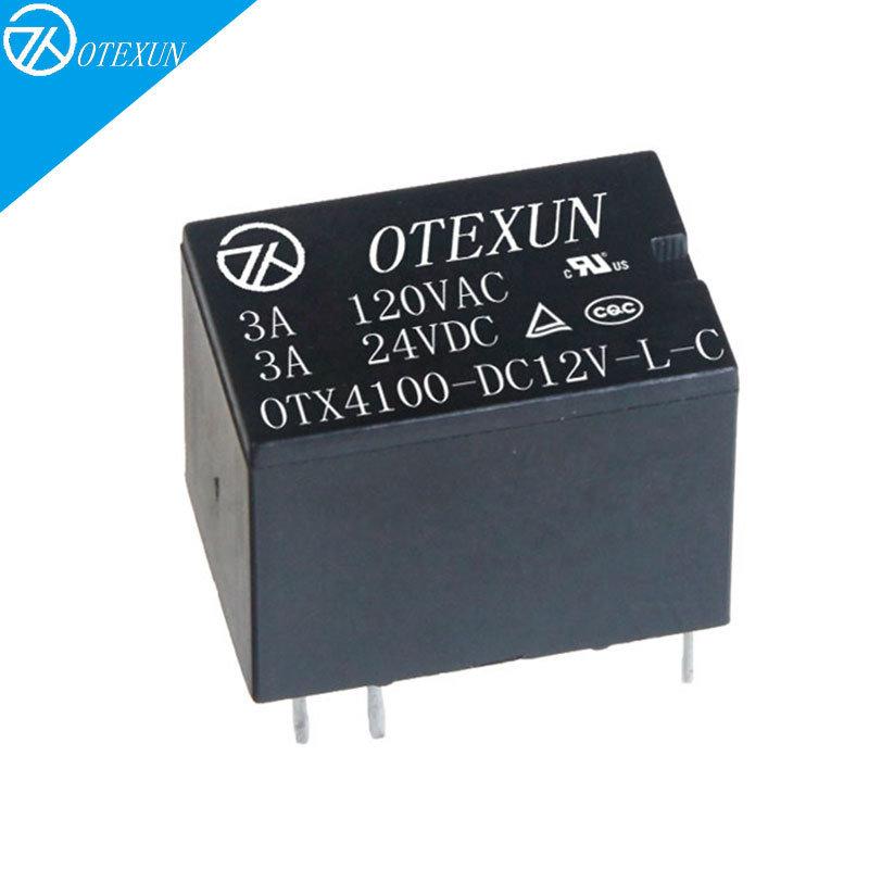 OTX4100小型繼電器 6腳3A直流