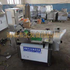 厂家直销玉友牌双头多功能切菜机---土豆切丝机