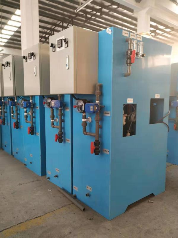 电解盐次氯酸钠发生器/自来水消毒设备