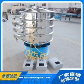 直径1米超声波筛分机,碳钢塑料颗粒圆筒超声波筛分机