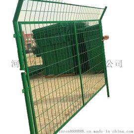高速公路护栏网 铁路防护栅栏 绿色养殖隔离网