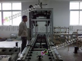 广州佛山积放摩擦滚筒线重型辊筒输送线