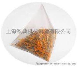 尼龙网状三角袋茶叶包装机 电子秤定量花草茶包装机