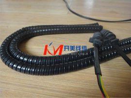 开美线缆- 矩形螺旋电缆