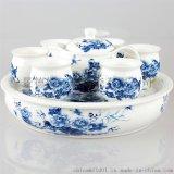 新年禮品陶瓷茶具 手繪陶瓷茶具禮品