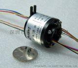 深圳中心孔滑环 360度换向连接器 360度旋转过电过信号