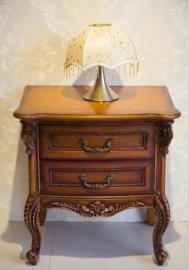 厂家直销跃嘉康家具实木家具欧式古典床头柜
