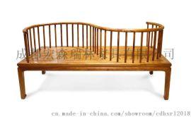 成都宏森古典中式茶楼家具 成都新中式家具