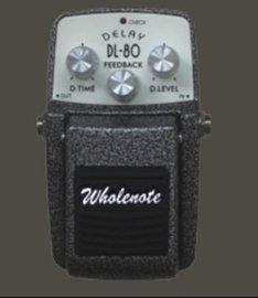塑料吉他贝司效果器(DL-8)