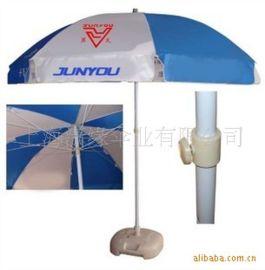 双骨防风伞架广告遮阳伞 2米4户外广告阳伞制作厂家