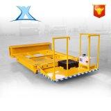 百特智能锻造材料配套料场河南电动平车 车间电动无人车可定制