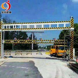电动智能升降限高架远程遥控城市乡村道路龙门架拦车架限高杆8米