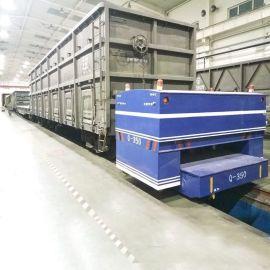 电动工业轨道车牵引火车车头运输车轨道专用柴油平板搬运车