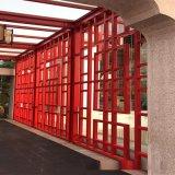 廠家定製仿古鋁窗花仿古木紋鋁窗花仿古木鋁合金窗花