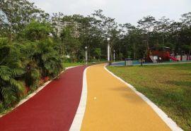 上海桓石透水地坪海绵城市建设节能道路铺装材料 透水地坪的施工工艺 巧匠心透水地坪