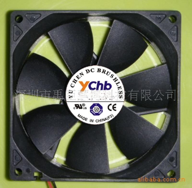 供应8025双滚珠, 12V, 直流风扇