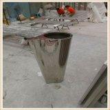 定製不鏽鋼花盆簡約不鏽鋼花器不鏽鋼花盆工藝園藝花器