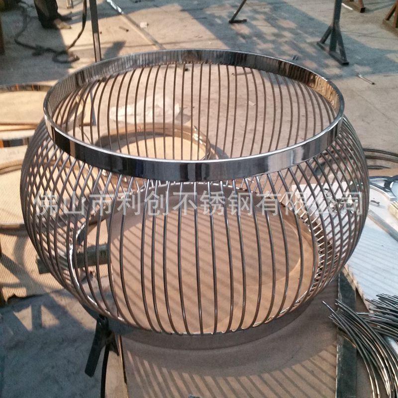 大理石不鏽鋼茶几 簡約圓形茶几接待北歐茶几辦公創意傢俱利創