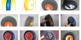 高品质手推车工具车轮胎