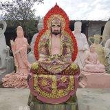 十八罗汉神像生产厂家 500罗汉 河南大型佛像雕塑